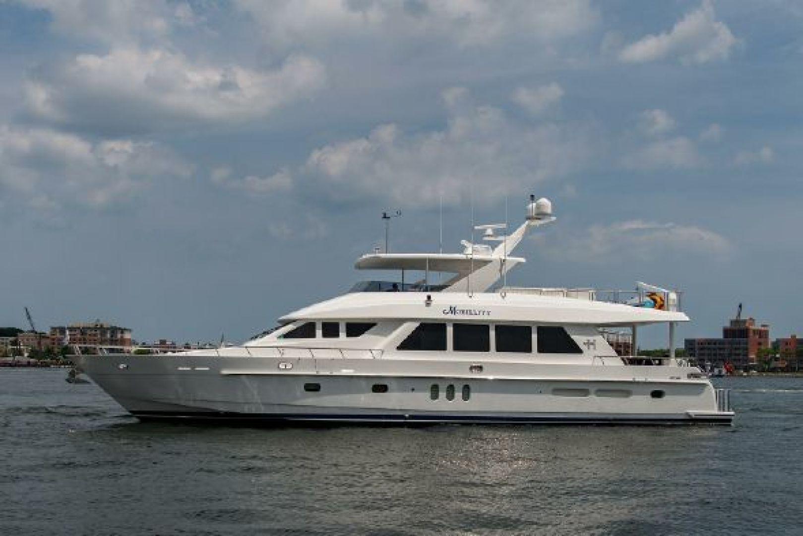 "2010 Hargrave 84' 84 Fly Bridge Motor Yacht ""Mobility"""