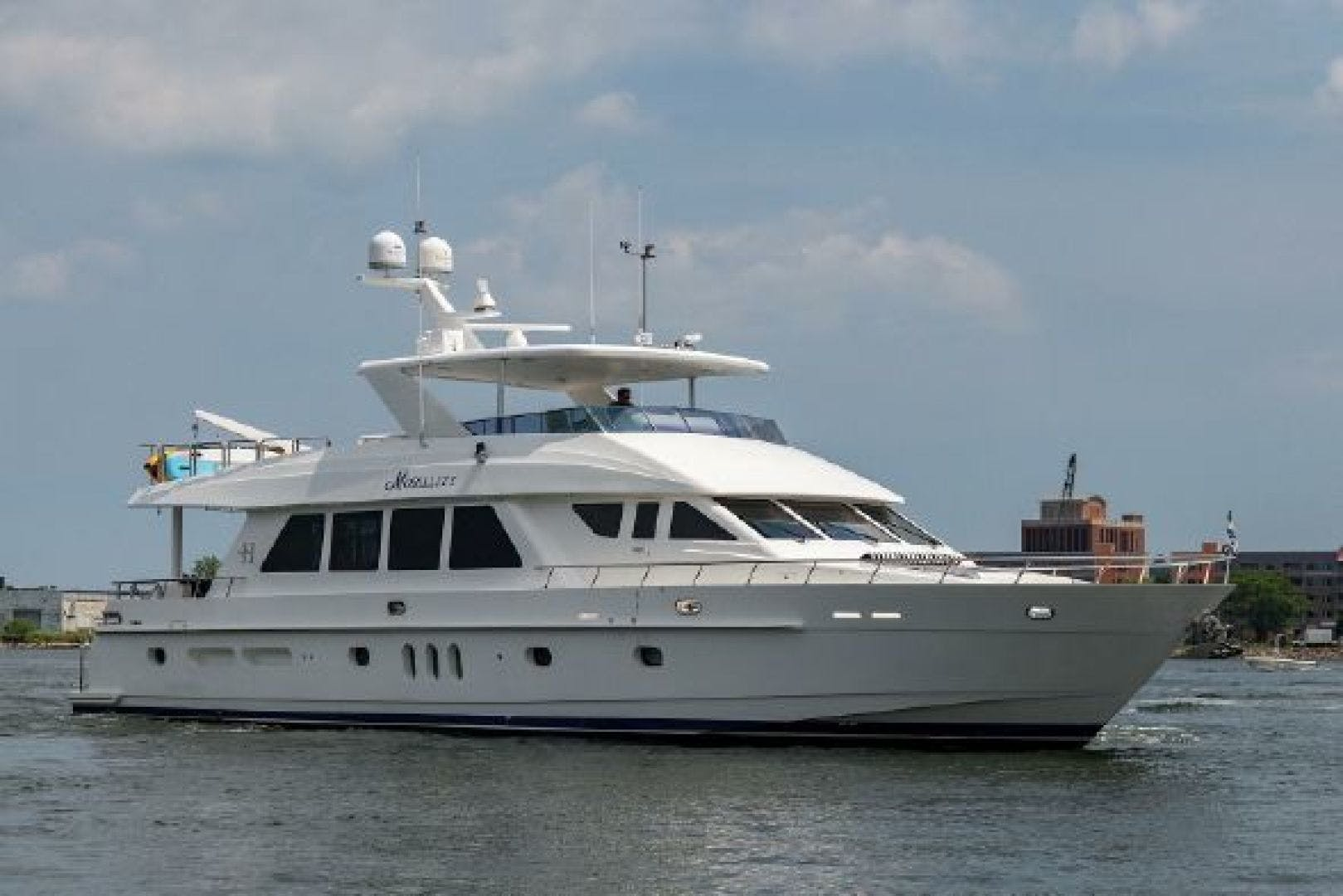 2010 Hargrave 84' 84 Fly Bridge Motor Yacht Mobility | Picture 1 of 107