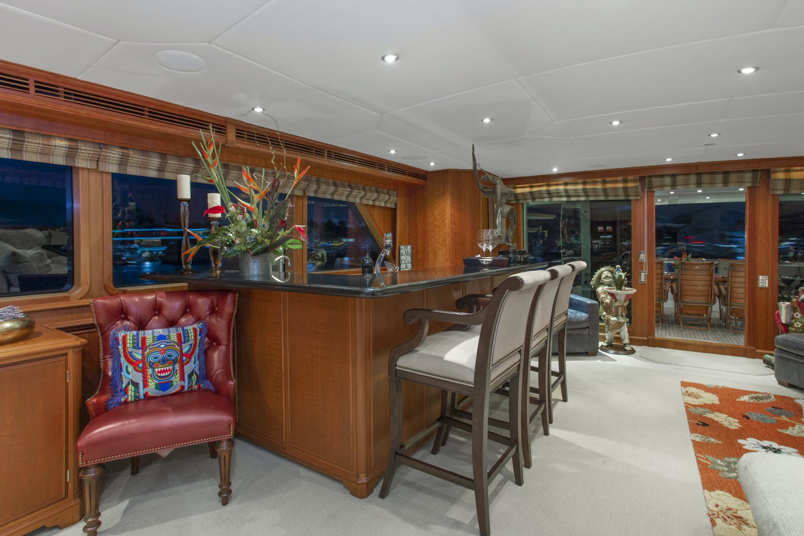 2000 Palmer Johnson 128' Custom Tri-Deck Motoryacht KIMBERLY | Picture 3 of 52