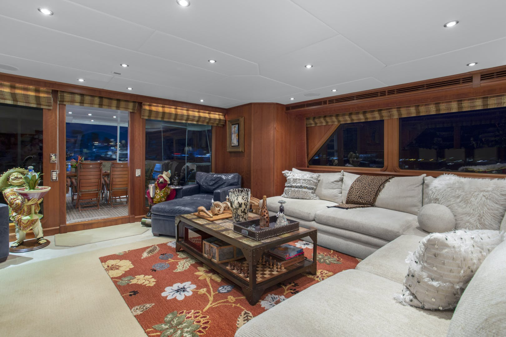 2000 Palmer Johnson 128' Custom Tri-Deck Motoryacht KIMBERLY | Picture 7 of 52