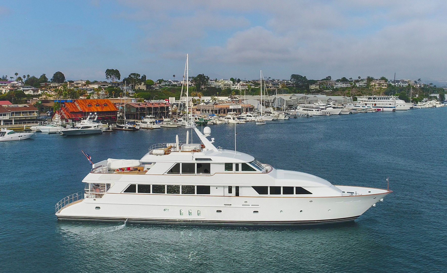 128' Palmer Johnson 2000 Custom Tri-Deck Motoryacht KIMBERLY