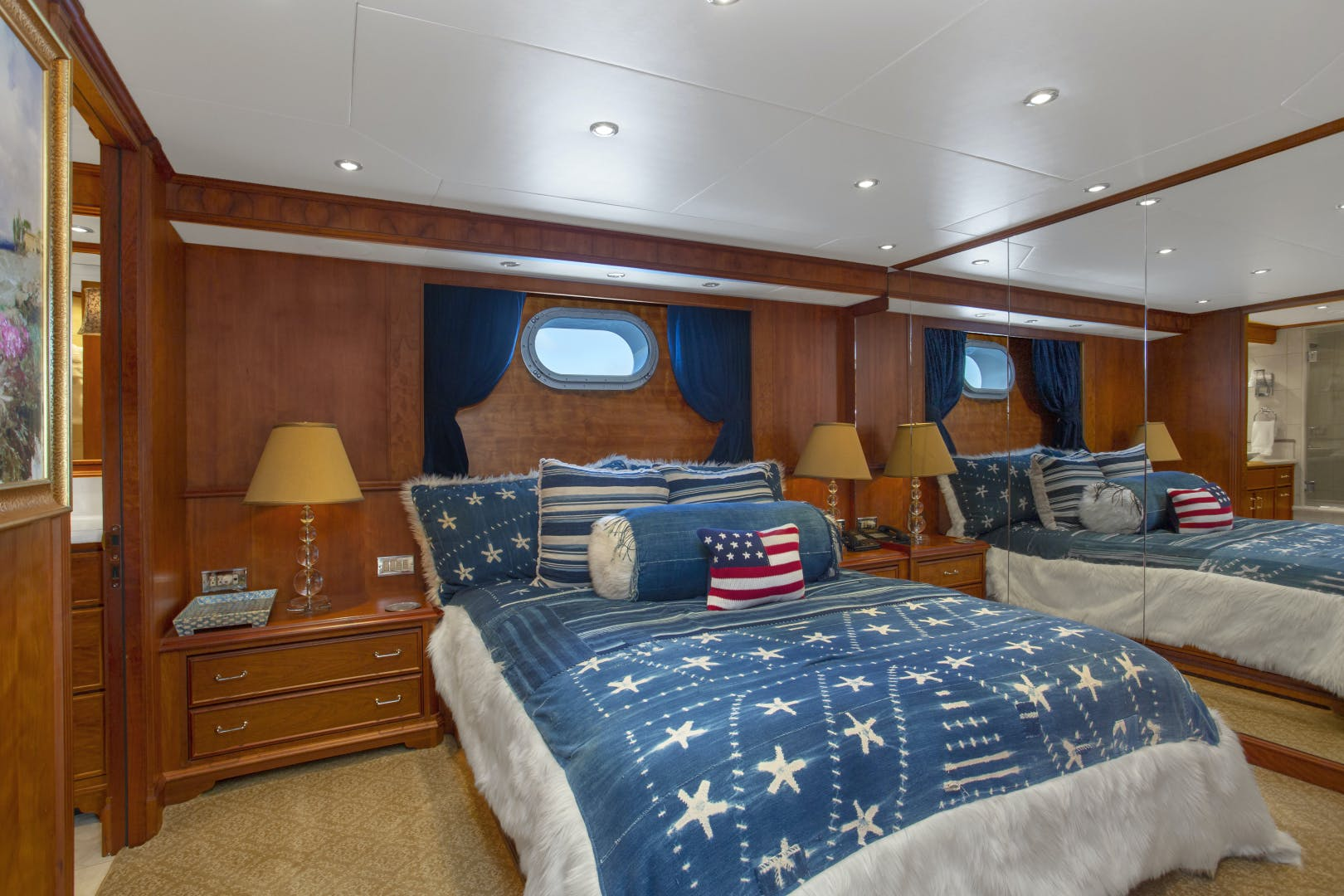 2000 Palmer Johnson 128' Custom Tri-Deck Motoryacht KIMBERLY | Picture 1 of 52