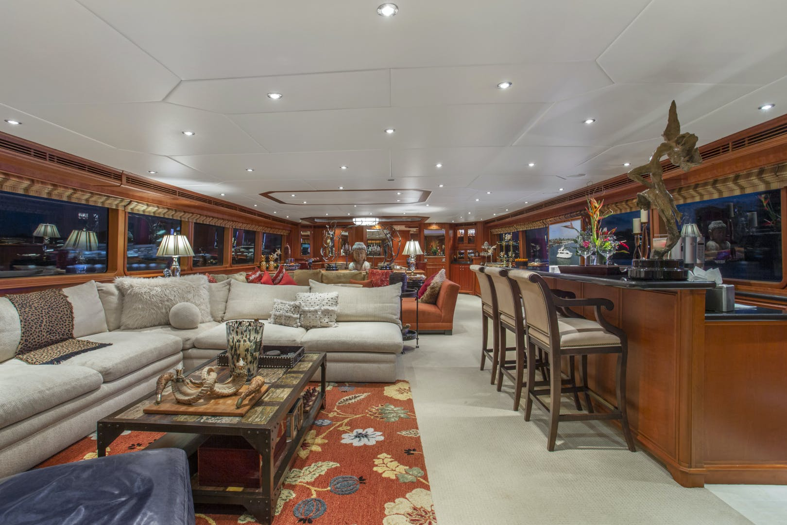 2000 Palmer Johnson 128' Custom Tri-Deck Motoryacht KIMBERLY | Picture 6 of 52