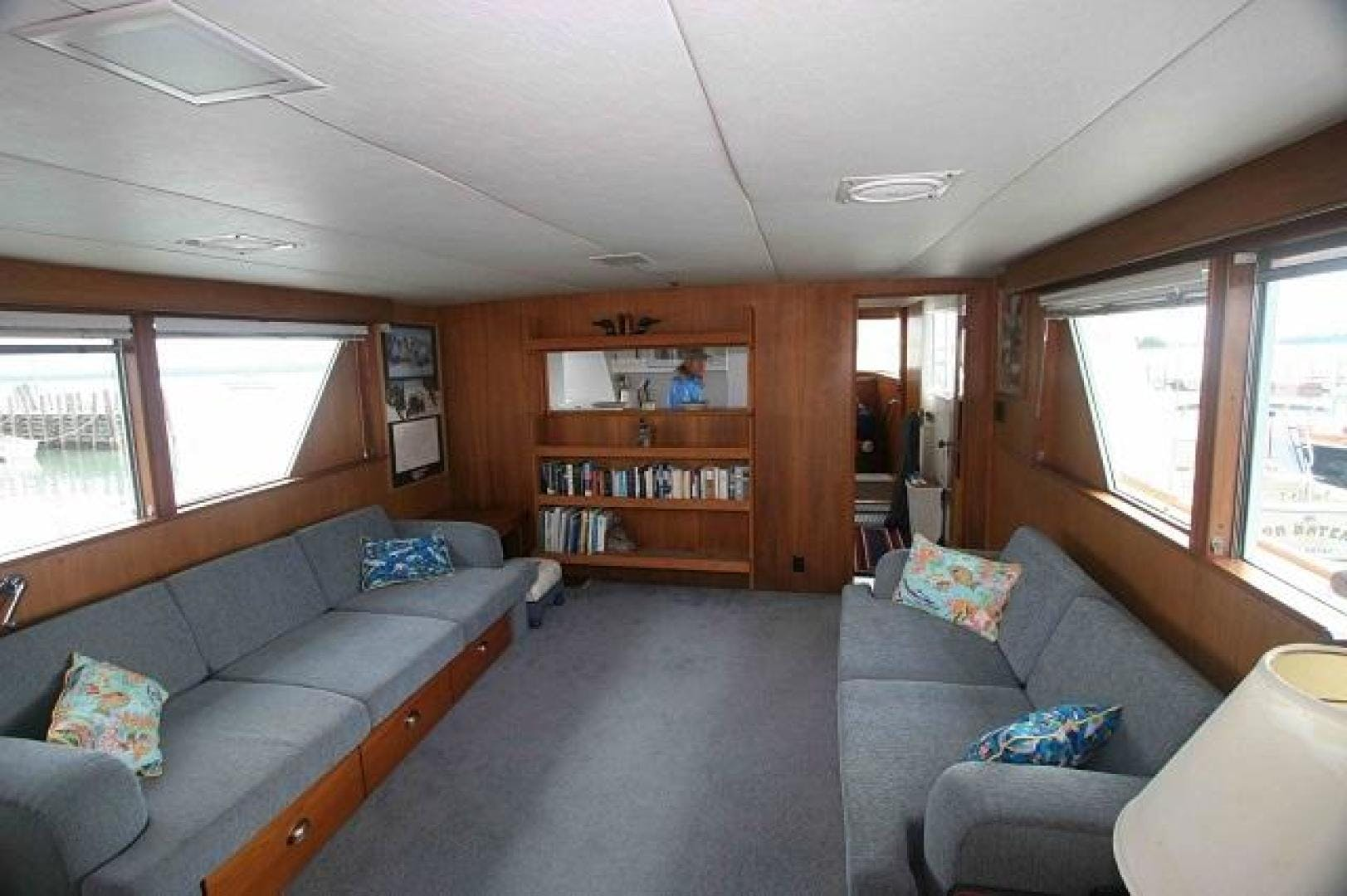 1969 Burger 75' Flushdeck  Pied A Mer | Picture 3 of 90