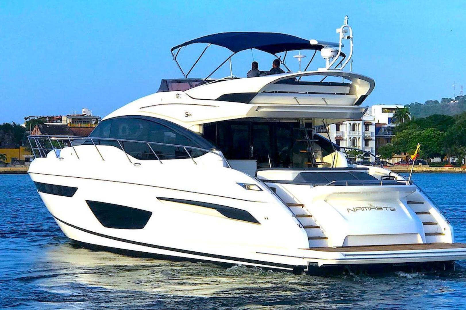 "2017 Princess Yachts International 65' S65 ""Namaste"""