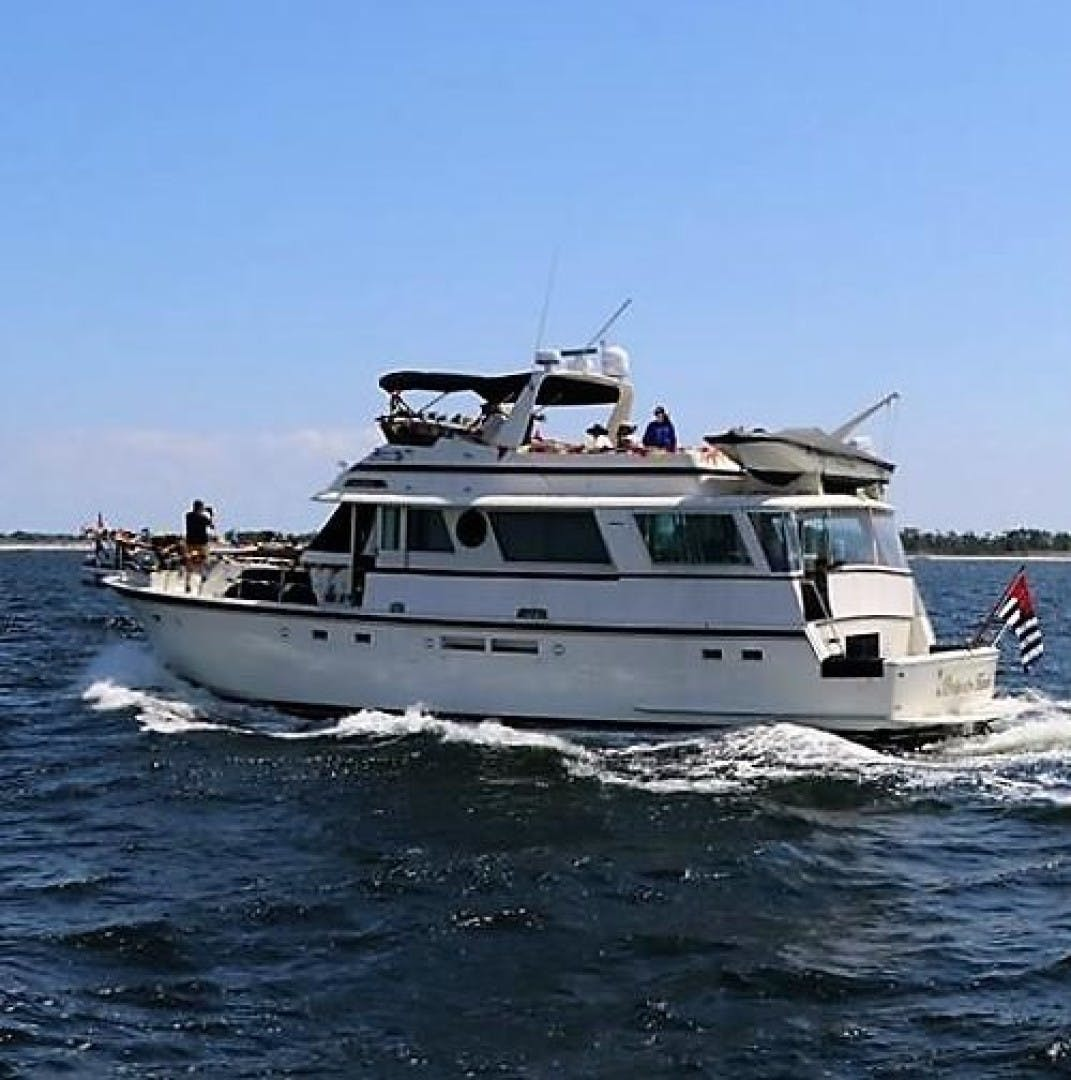 1987 Hatteras 63'  PRIVATE ISLAND | Picture 1 of 31