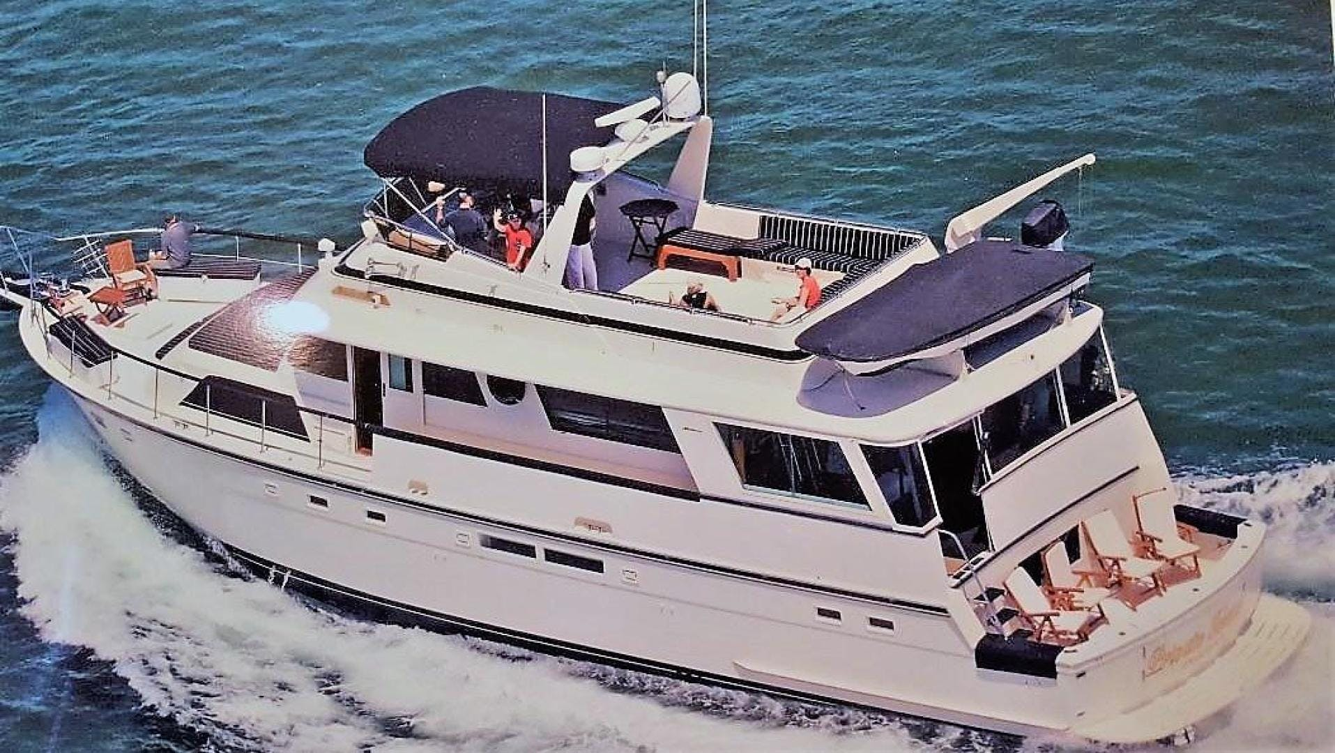 1987 Hatteras 63'  PRIVATE ISLAND | Picture 2 of 31