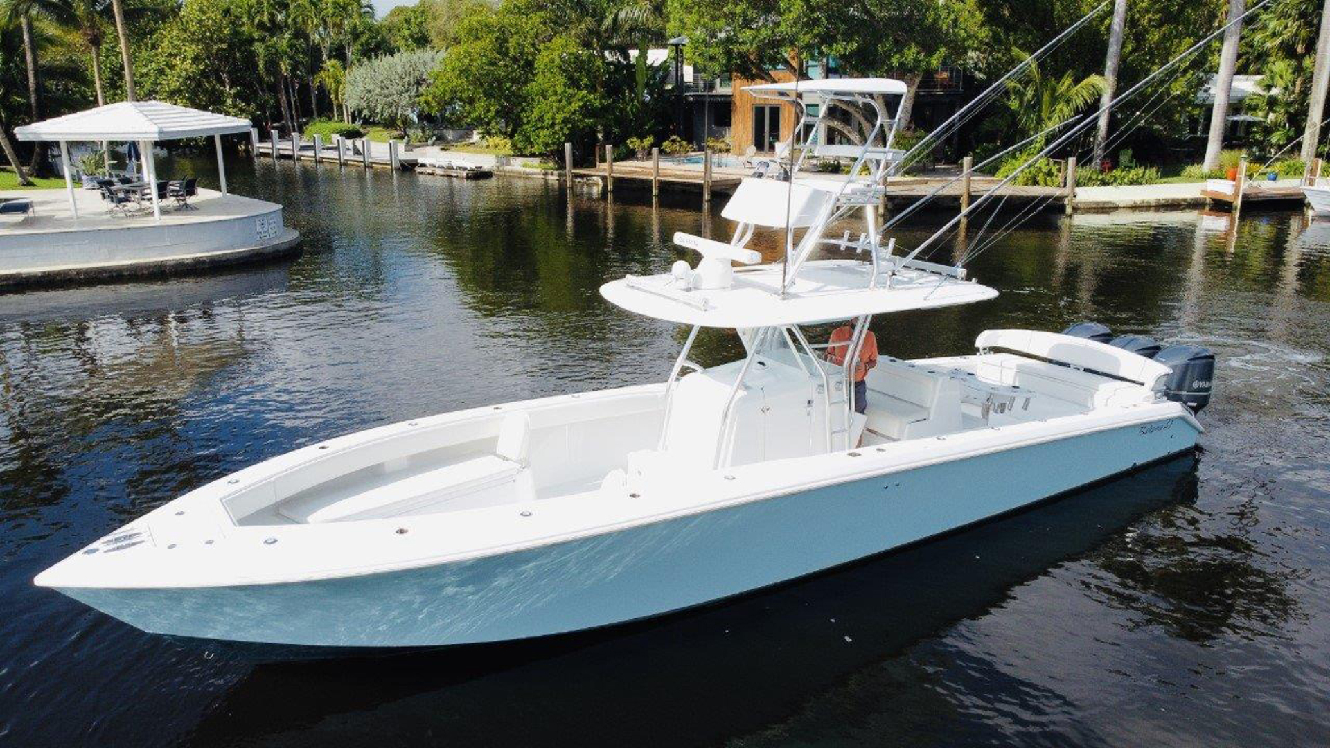 41' Bahama 2014 SeaKeeper Gyro equipped BOBBIE SUE