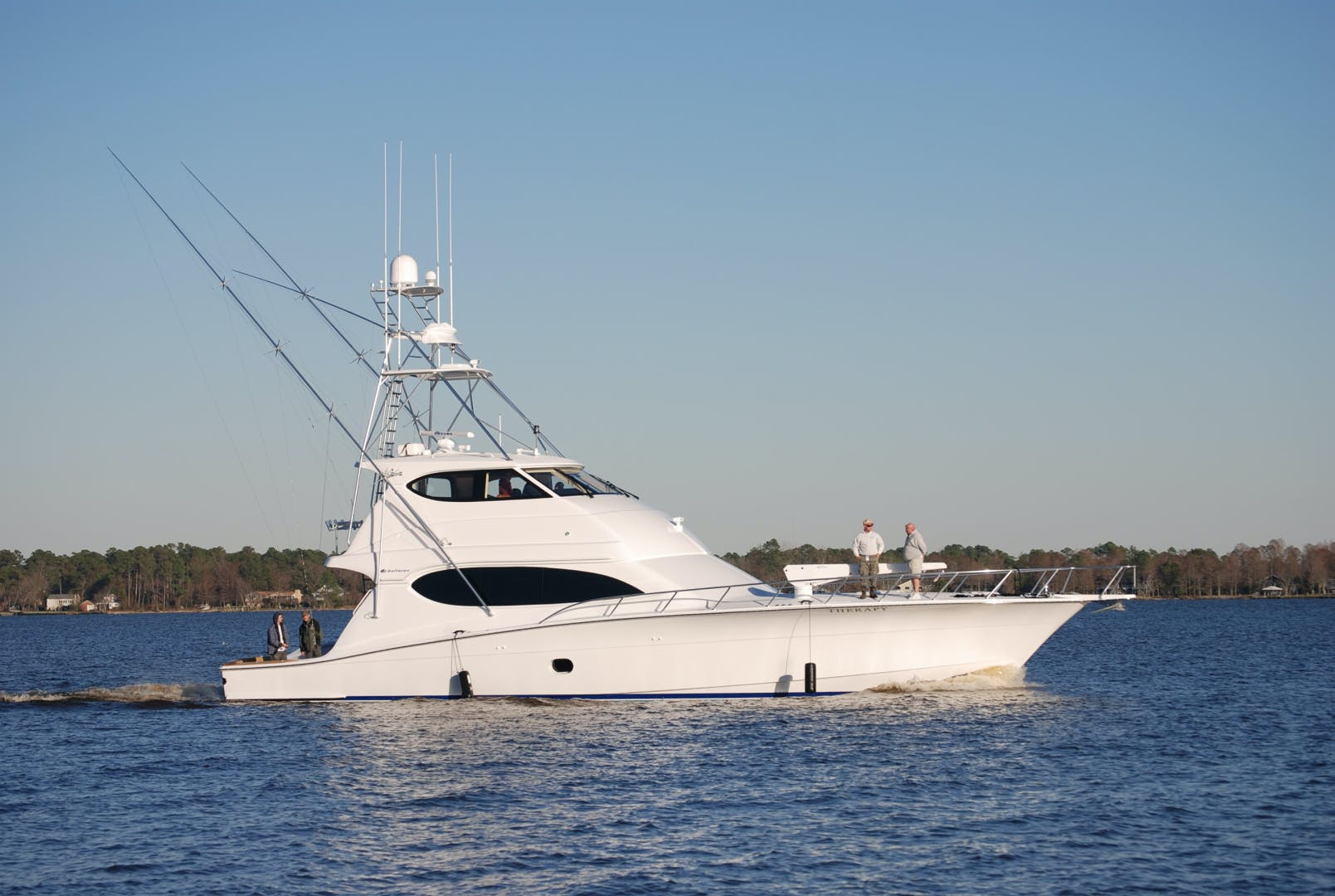 2007 Hatteras 68' 68' Convertible EB Therapy | Picture 1 of 1
