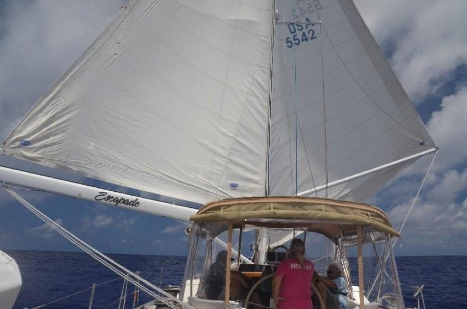 1996 Oyster 55' Center Cockpit Cutter Escapade | Picture 1 of 21