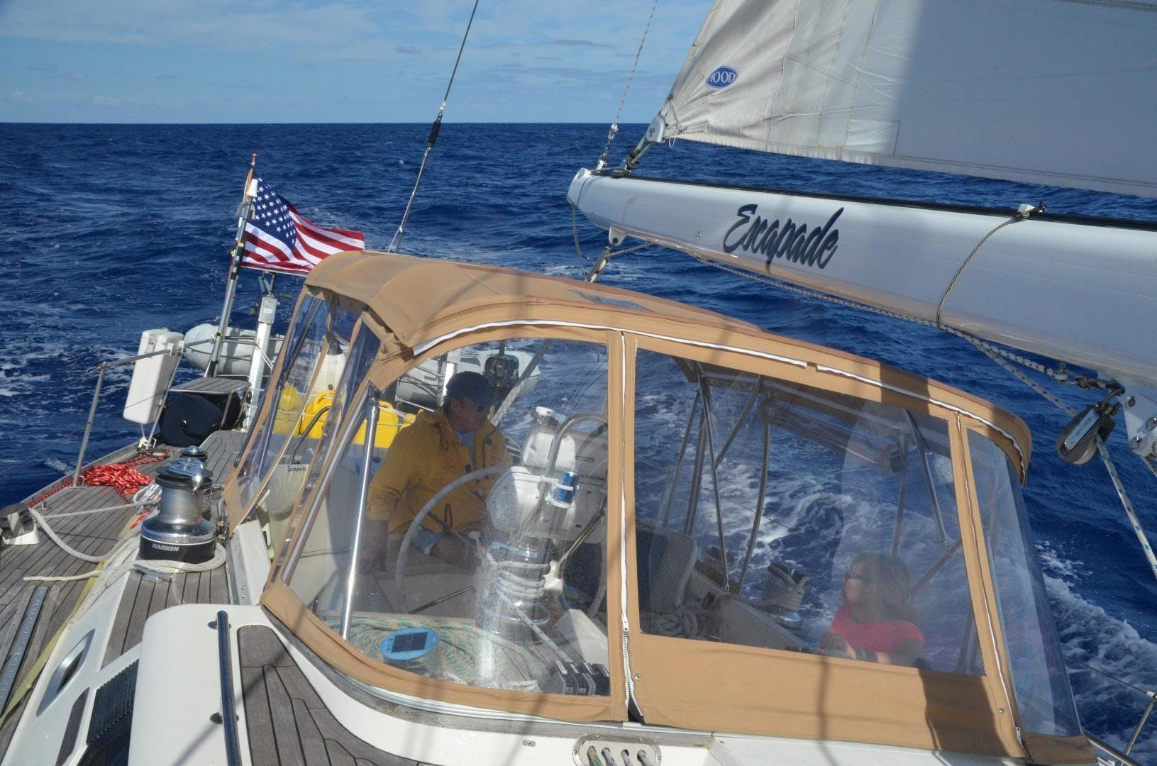 1996 Oyster 55' Center Cockpit Cutter Escapade | Picture 5 of 21