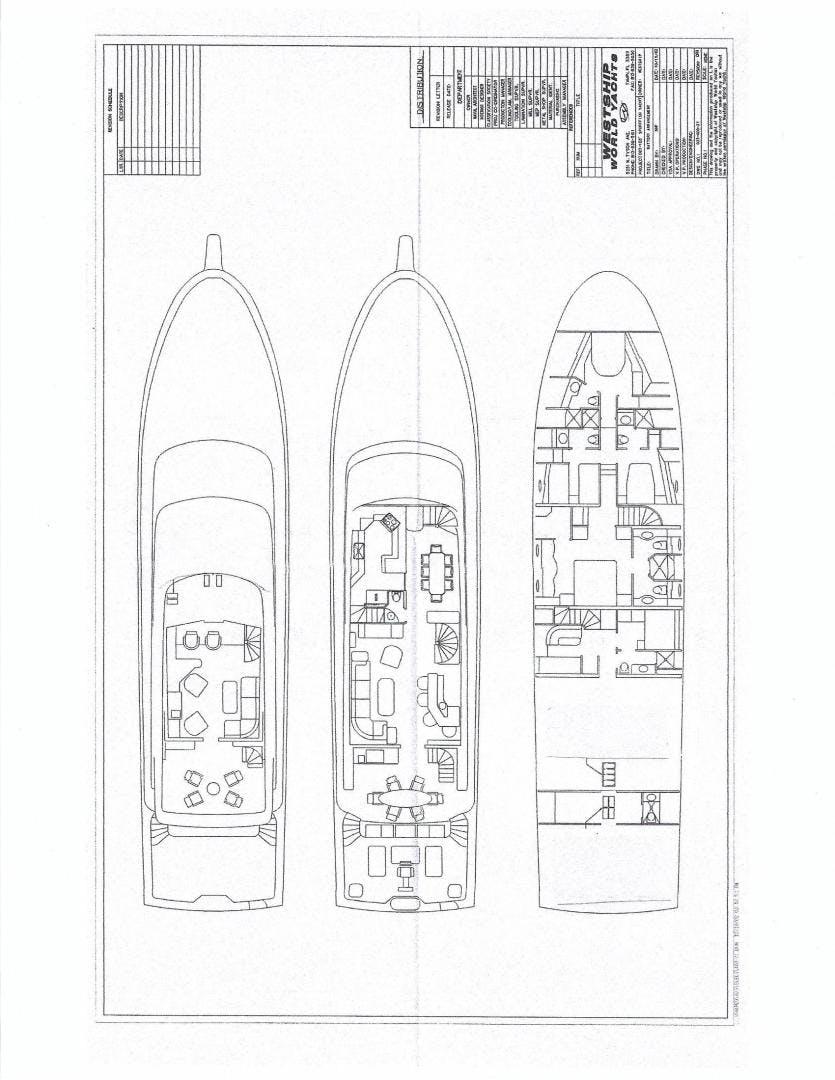 2003 Westship 103' Sportfish Yacht SVENGALI | Picture 6 of 82