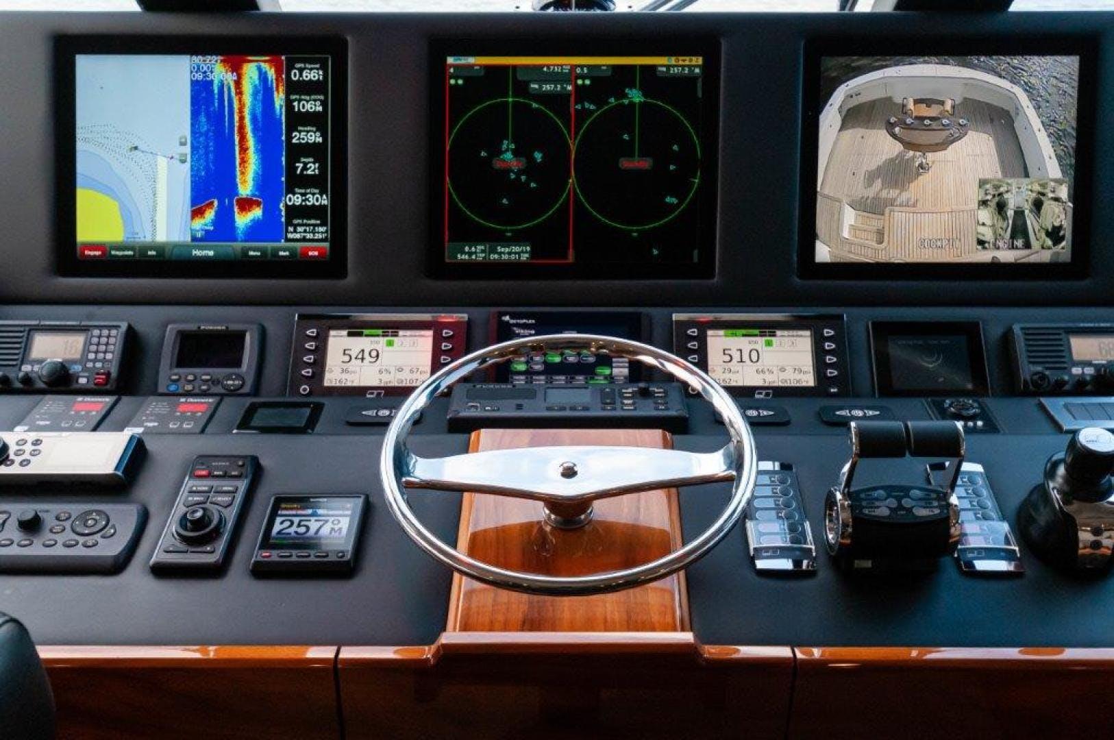 2017 Viking 72' 72 Enclosed Bridge SHARE E   Picture 7 of 64