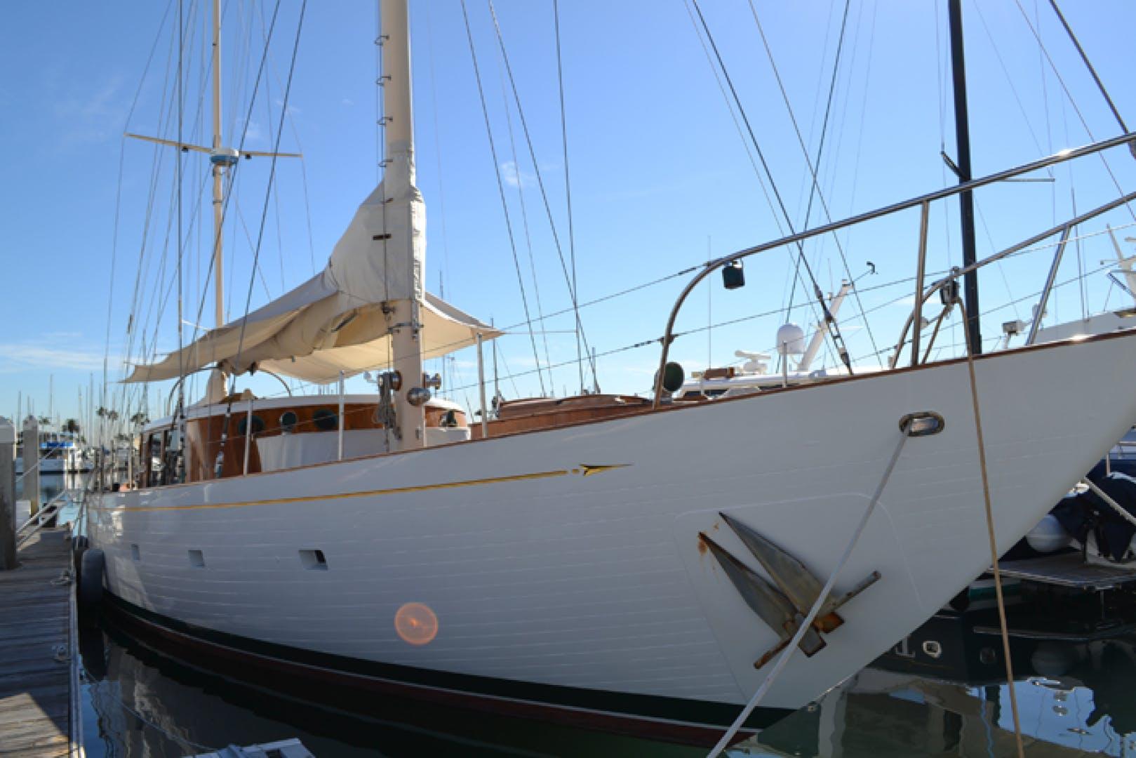 1961 Vic Franck 80' Cruising Sailboat TATOOSH   Picture 8 of 53