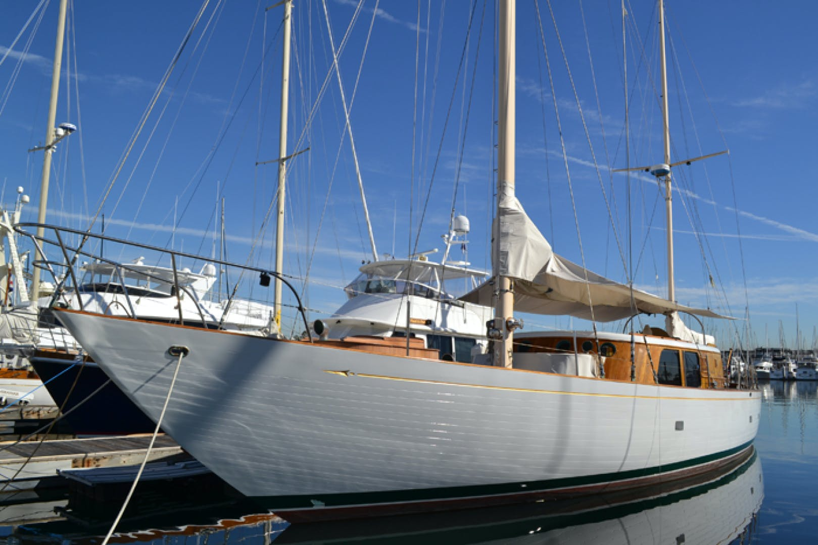 1961 Vic Franck 80' Cruising Sailboat TATOOSH | Picture 7 of 53
