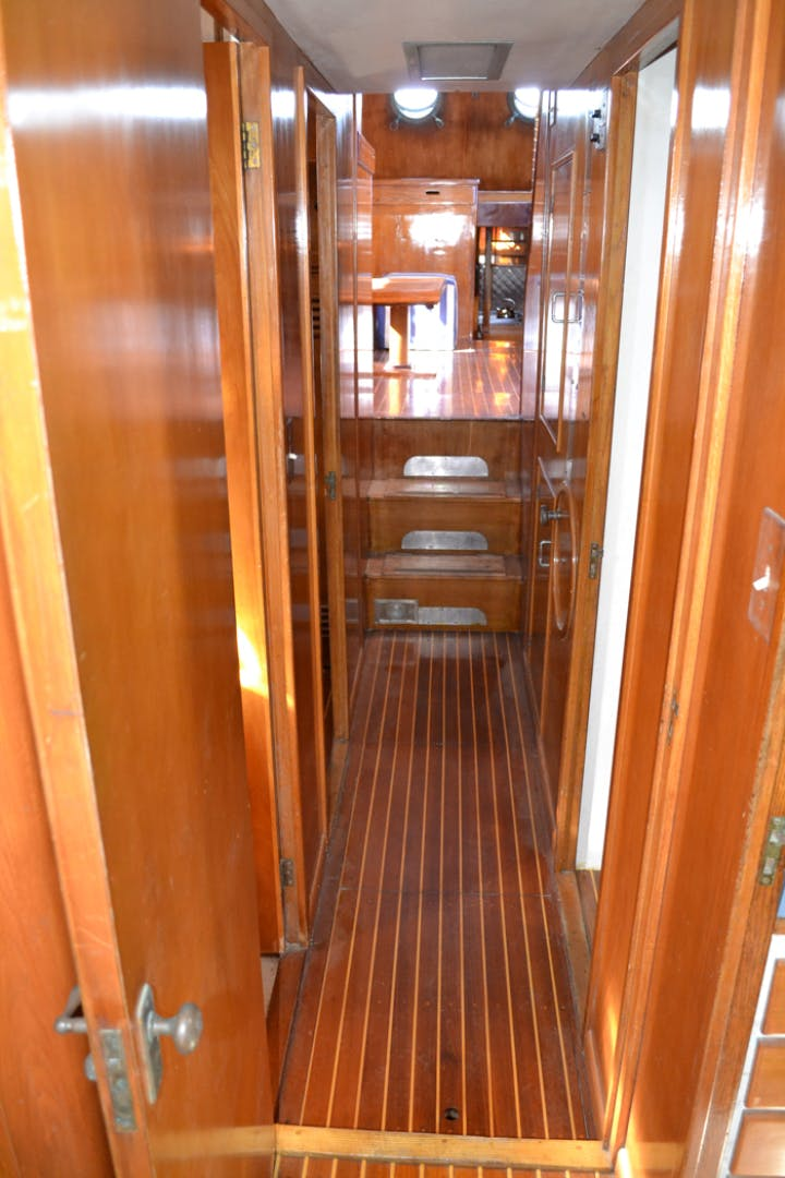 1961 Vic Franck 80' Cruising Sailboat TATOOSH | Picture 3 of 53
