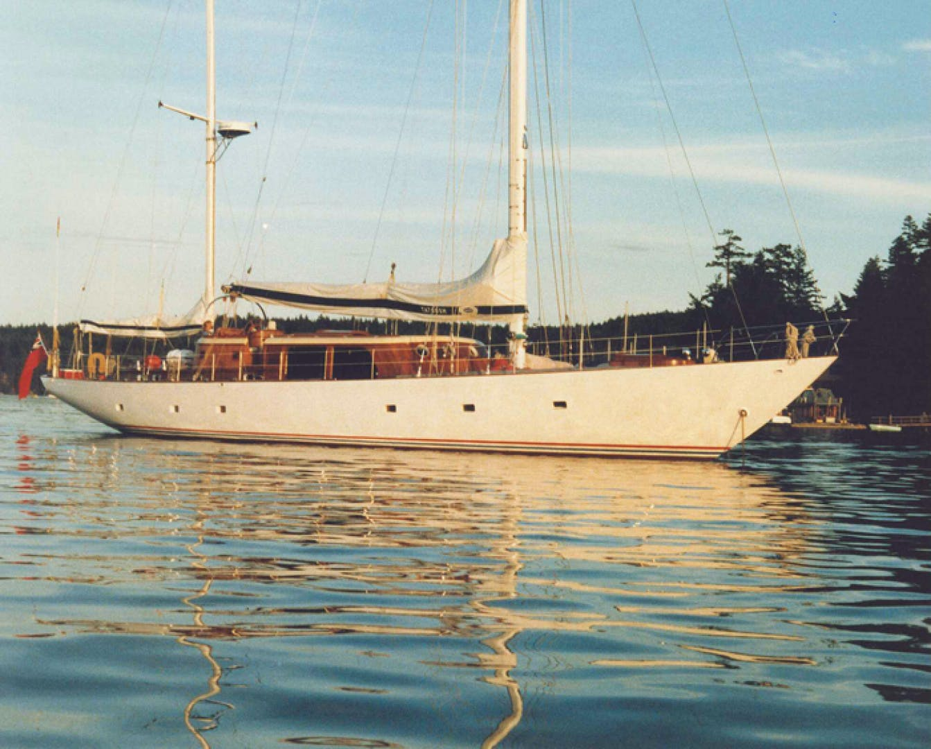 1961 Vic Franck 80' Cruising Sailboat TATOOSH | Picture 2 of 53