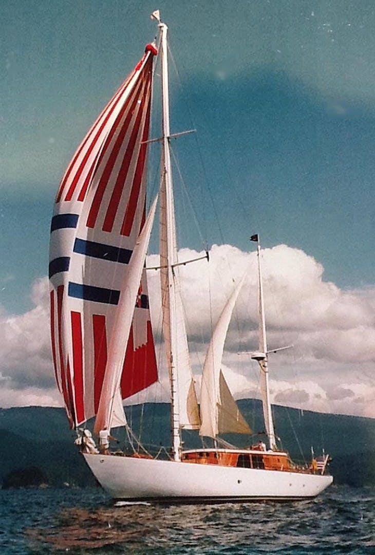 1961 Vic Franck 80' Cruising Sailboat TATOOSH | Picture 4 of 53