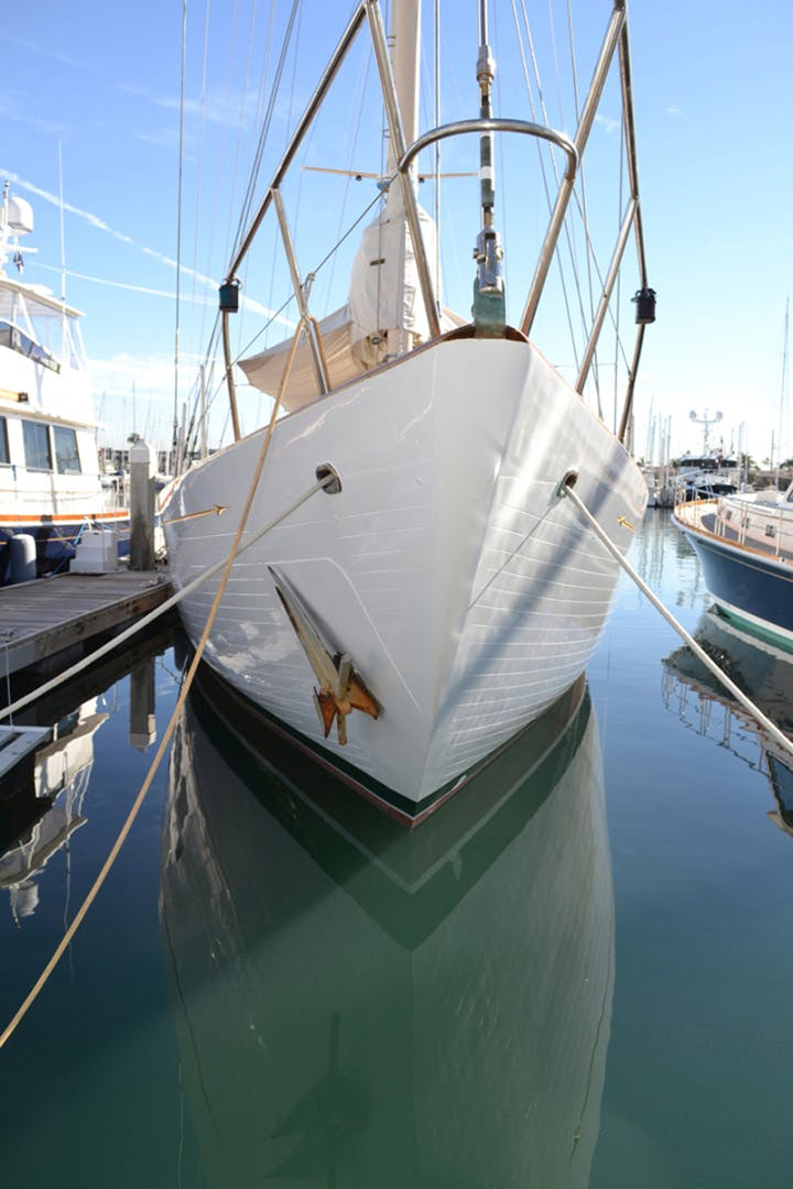 1961 Vic Franck 80' Cruising Sailboat TATOOSH   Picture 6 of 53