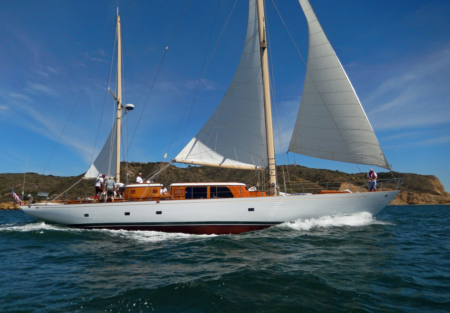 "1961 Vic Franck 80' Cruising Sailboat ""TATOOSH"""