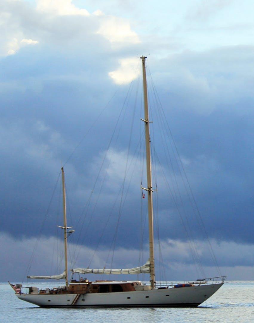 1961 Vic Franck 80' Cruising Sailboat TATOOSH   Picture 3 of 53