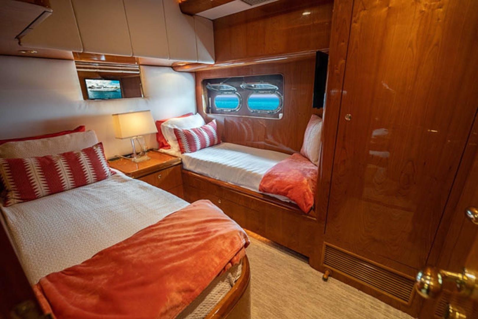 2001 Horizon 82' Flybridge Motor Yacht LADY BULL | Picture 2 of 88