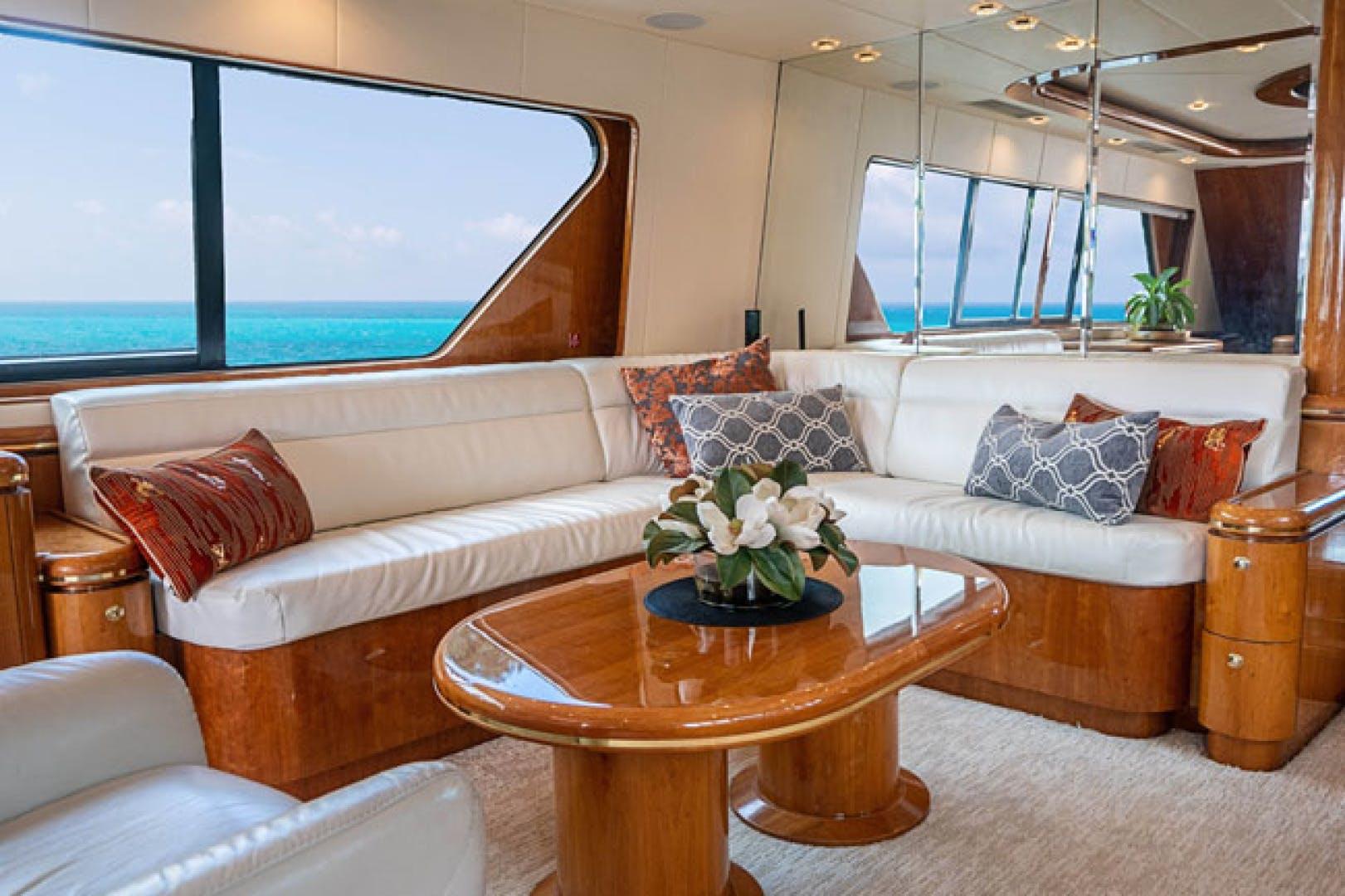 2001 Horizon 82' Flybridge Motor Yacht LADY BULL   Picture 4 of 88