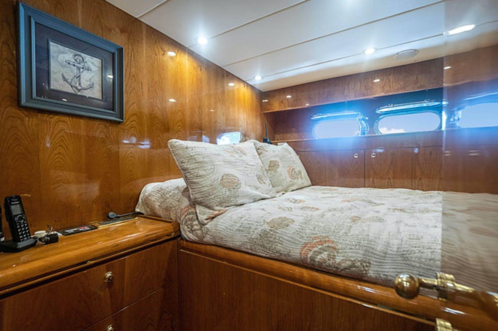 2001 Horizon 82' Flybridge Motor Yacht LADY BULL   Picture 5 of 88