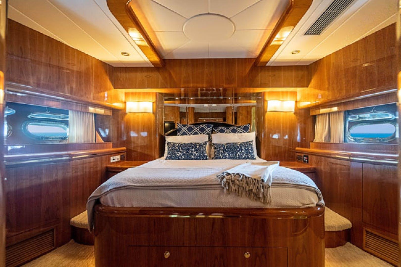 2001 Horizon 82' Flybridge Motor Yacht LADY BULL | Picture 7 of 88