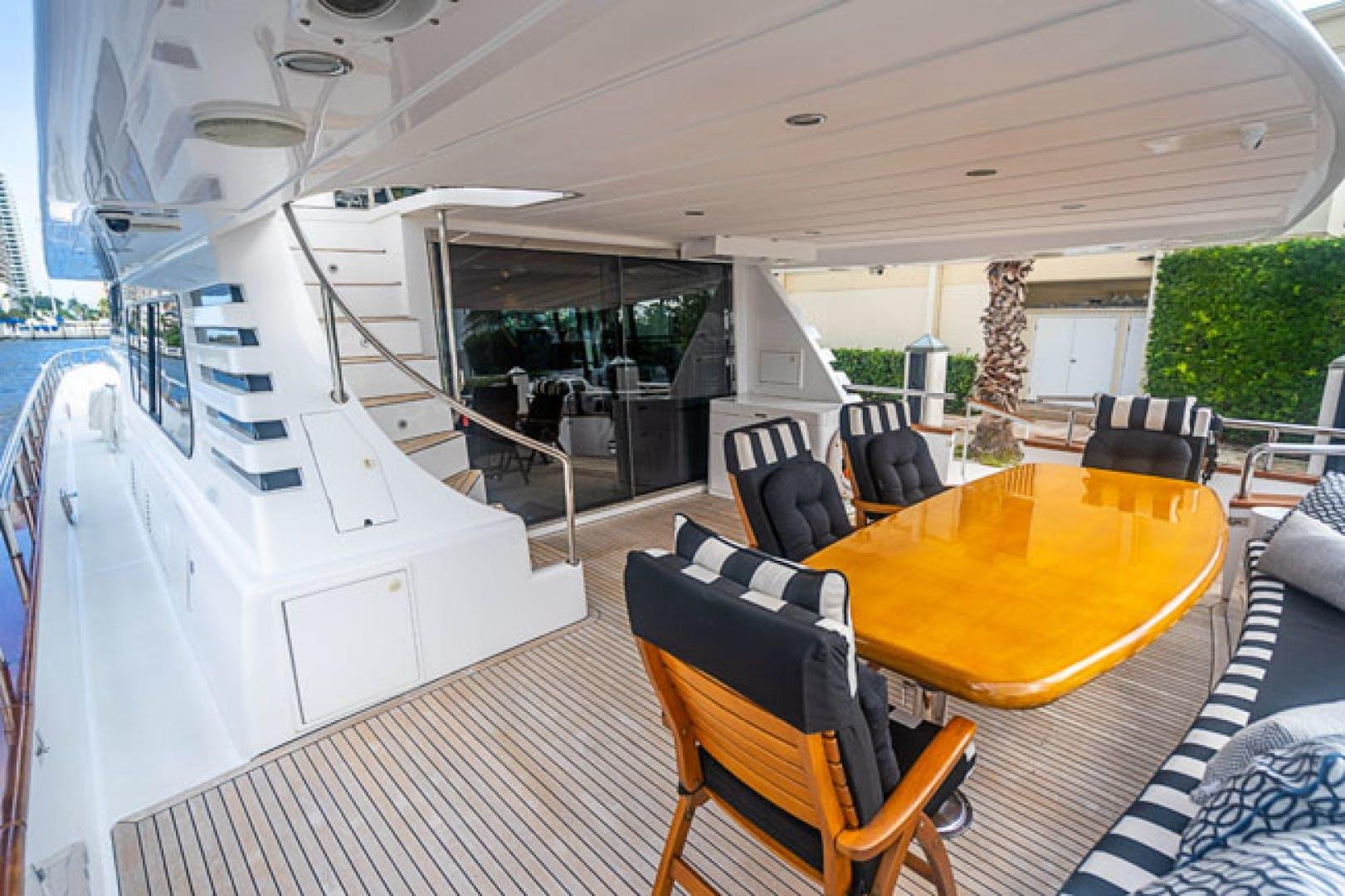 2001 Horizon 82' Flybridge Motor Yacht LADY BULL | Picture 3 of 88