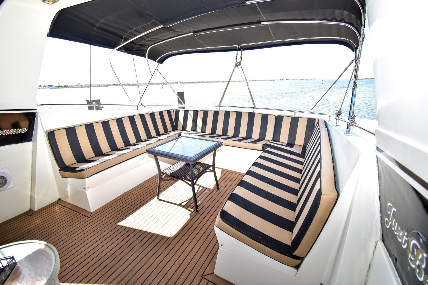 1989 Hatteras 67' 67 Cockpit Motor Yacht Why Knot Just Because | Picture 8 of 24