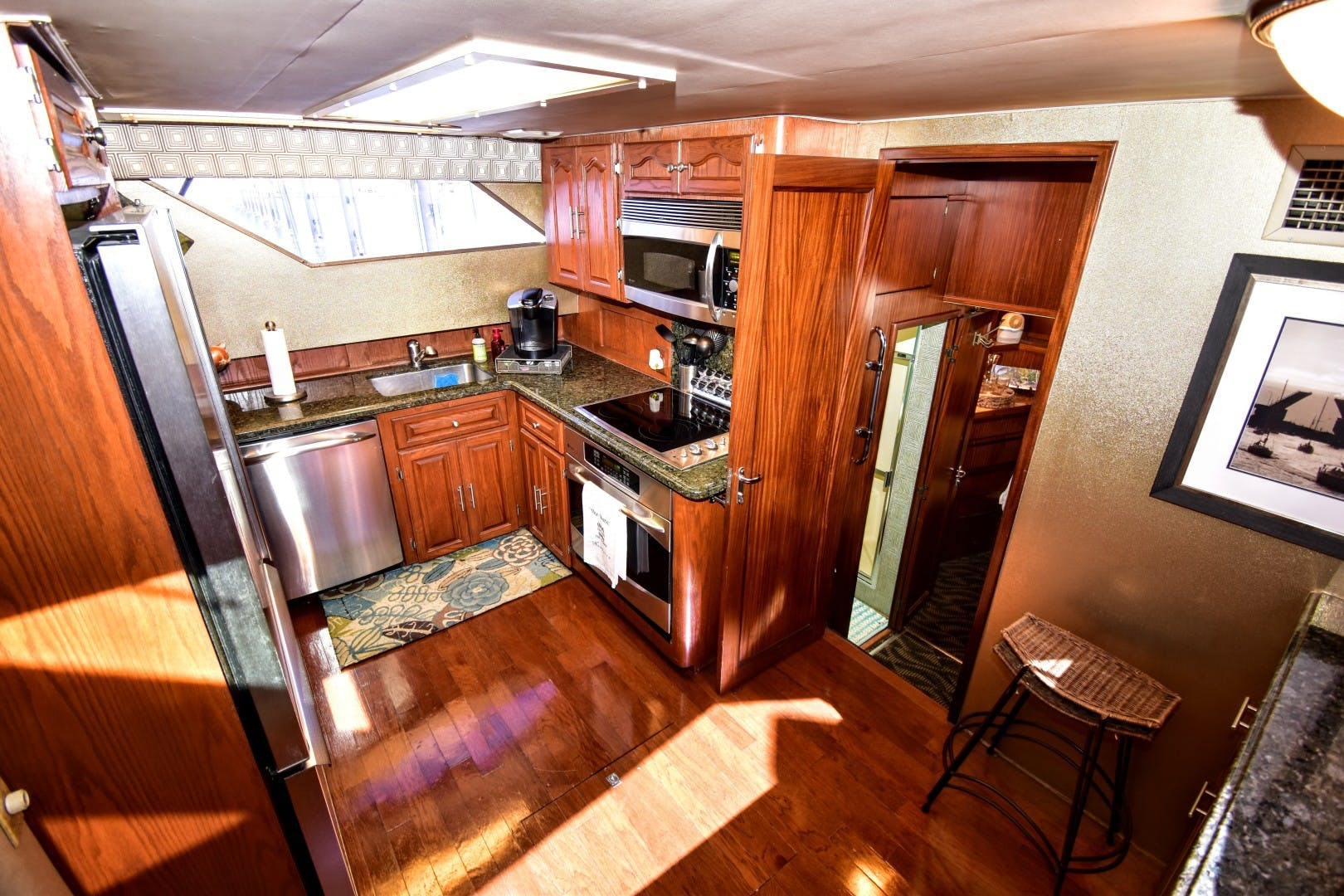 1989 Hatteras 67' 67 Cockpit Motor Yacht Why Knot Just Because | Picture 7 of 24