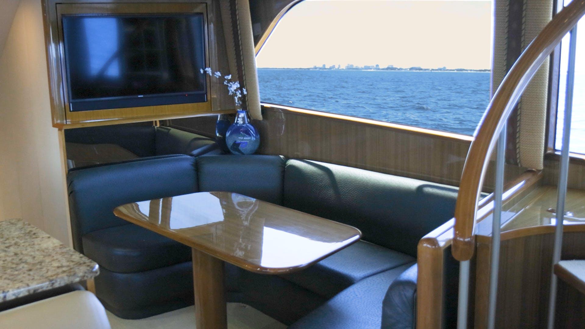 2005 Viking 61' 61 Enclosed Bridge Convertible Ya Ya Ya | Picture 7 of 63