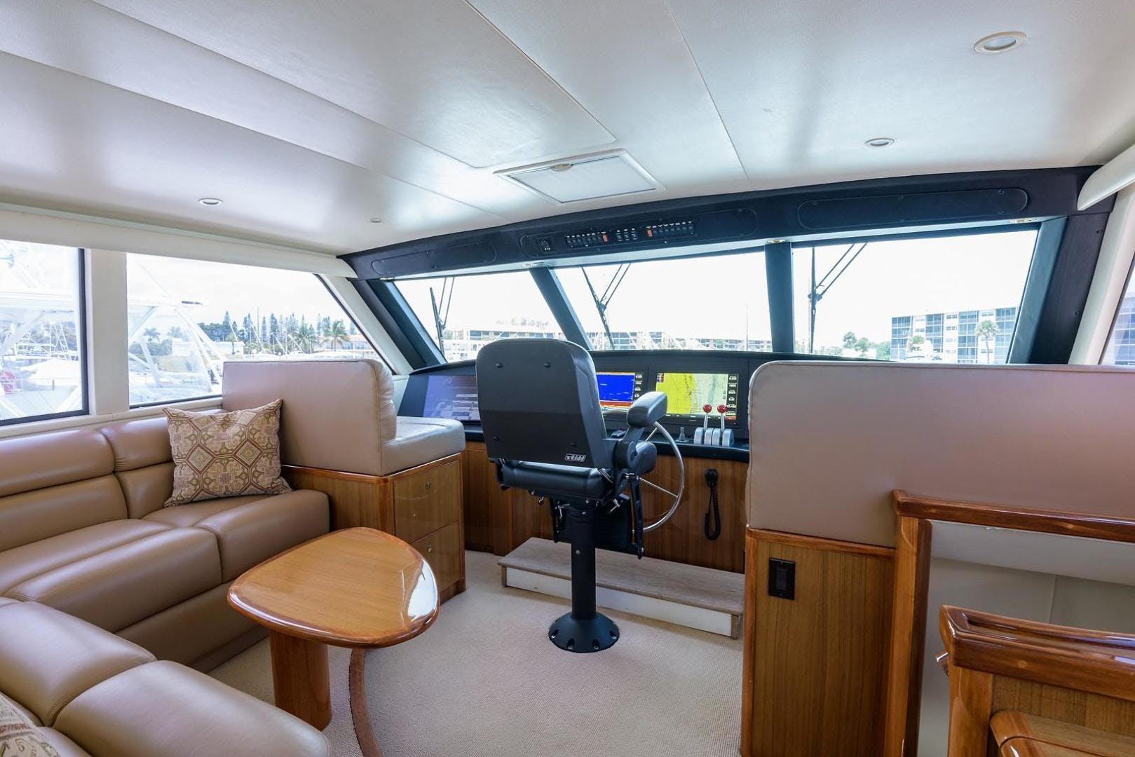 2005 Viking 61' 61 Enclosed Bridge Convertible Ya Ya Ya | Picture 8 of 63