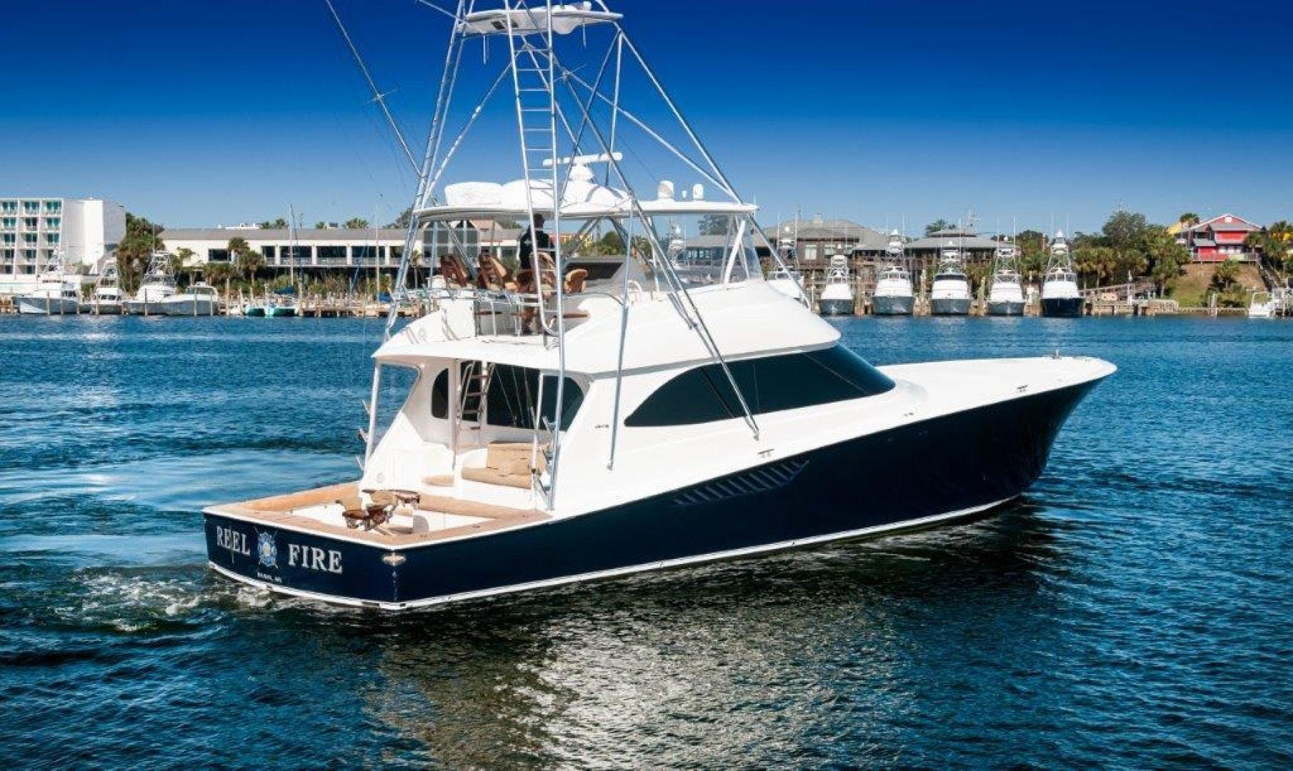 2011 Viking 70' 70 Convertible Reel Fire | Picture 8 of 75