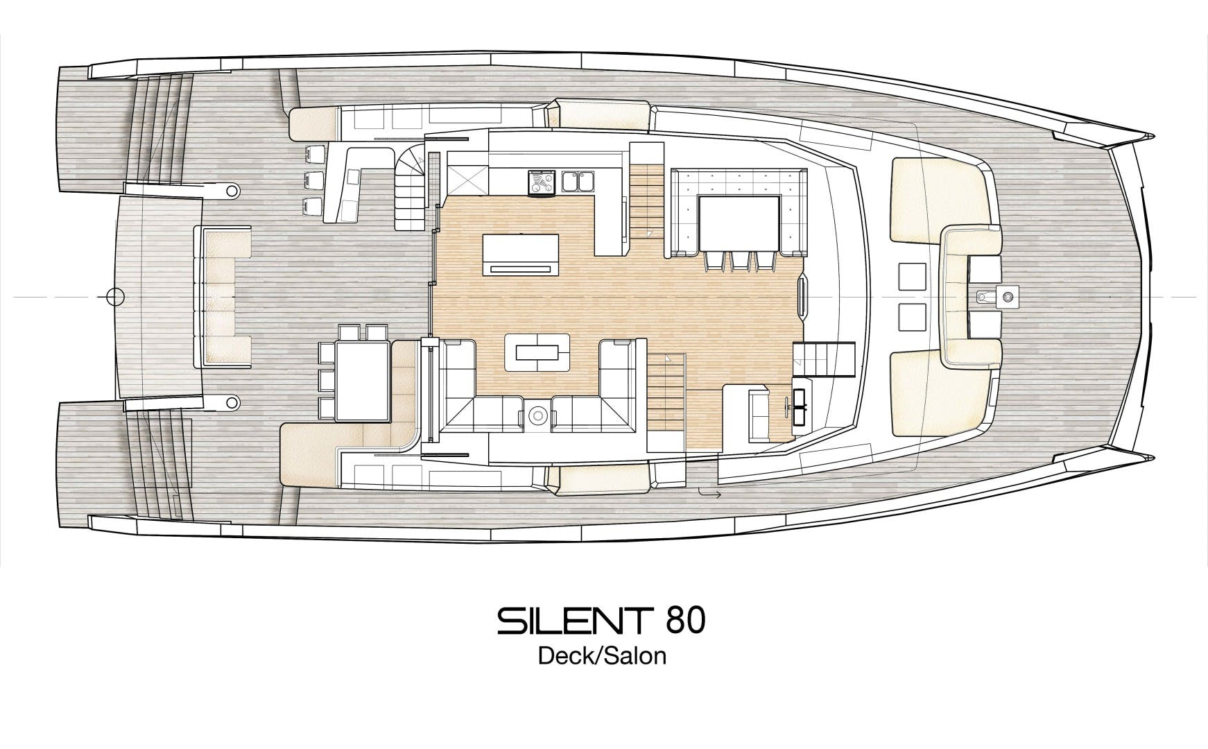 2020 Silent-Yachts 80' Silent 80  SILENT 80 | Picture 4 of 21