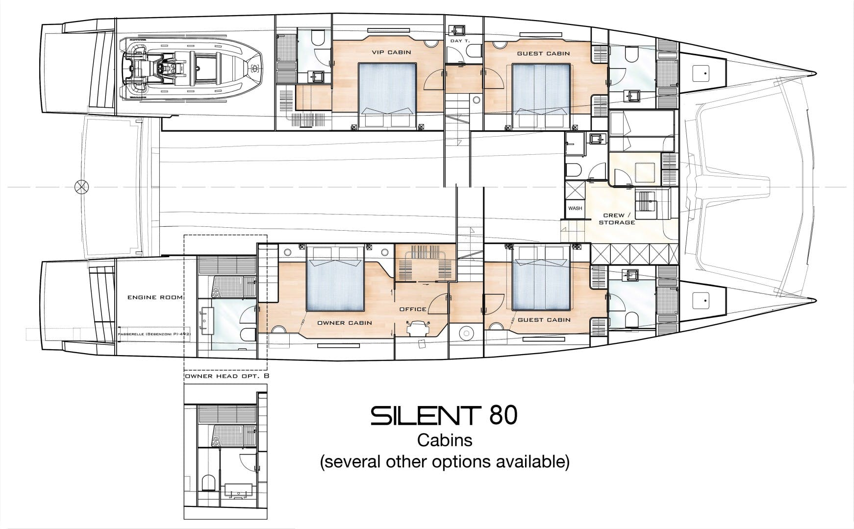 2020 Silent-Yachts 80' Silent 80  SILENT 80 | Picture 5 of 21