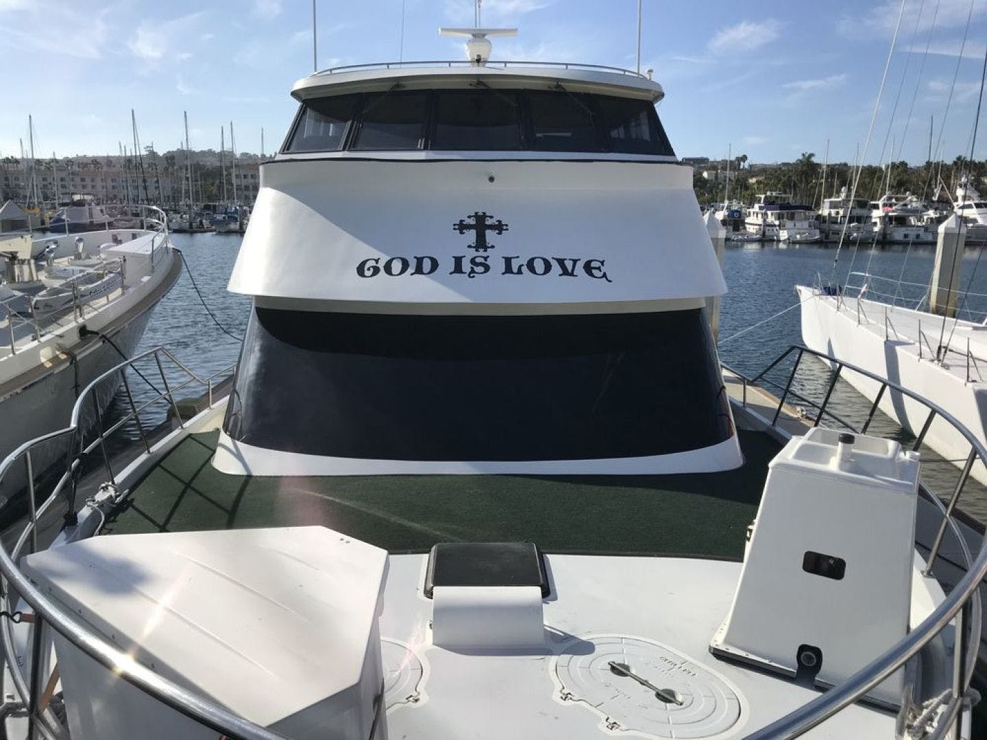 1989 Custom 65' La Conner Sky Lounge God Is Love | Picture 1 of 28