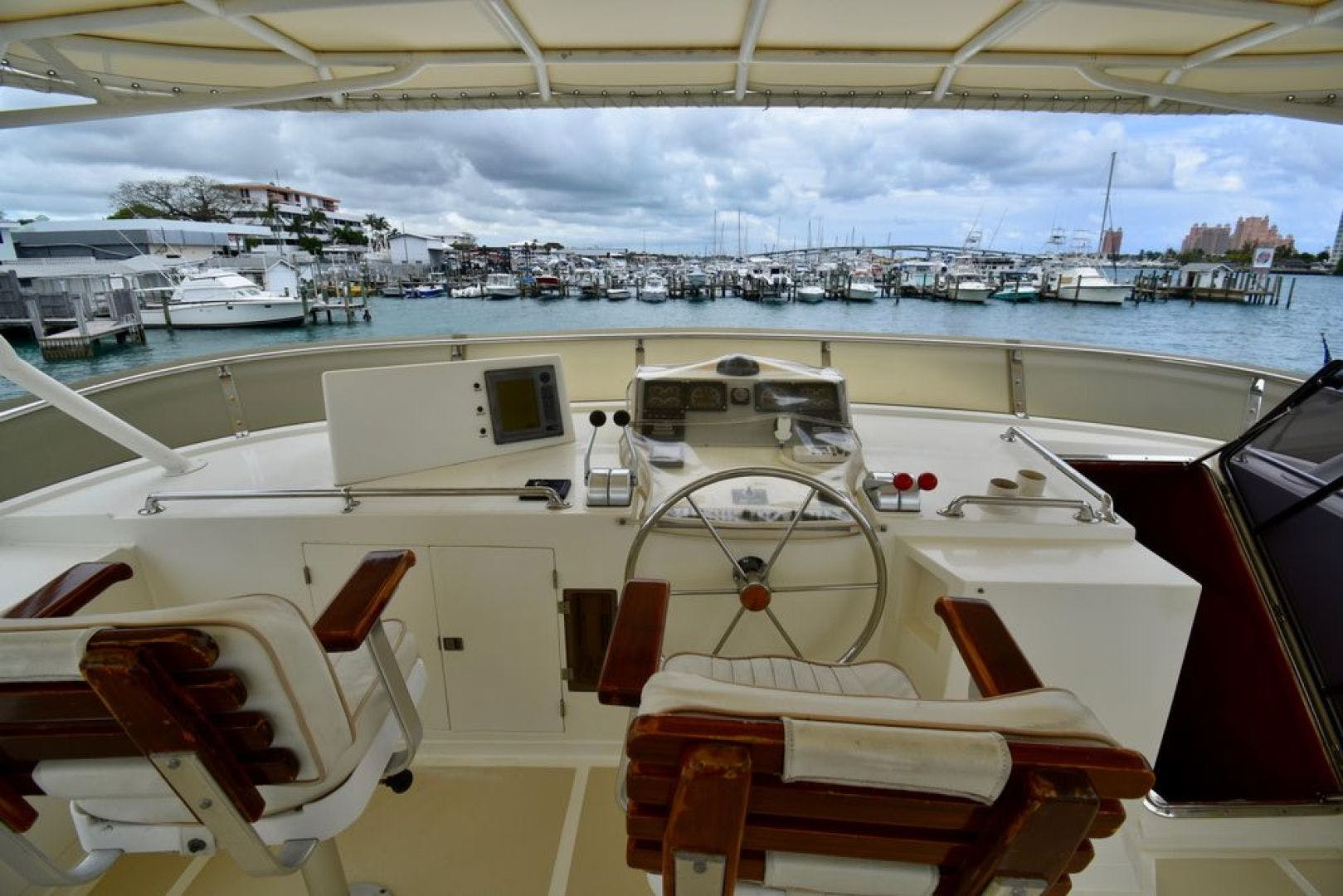 2000 Offshore Yachts 62' Pilot House Six C One II | Picture 7 of 52