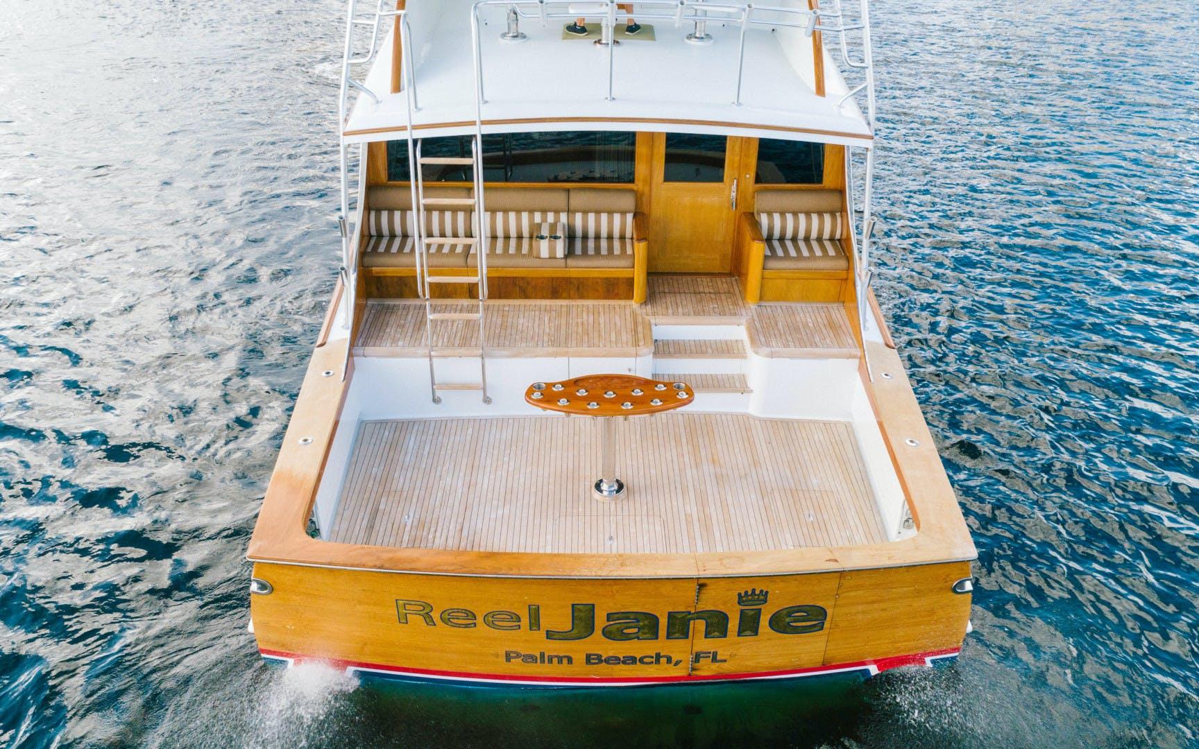 1996 Merritt 75' Sportfish REEL JANIE EX HULLBILLY | Picture 6 of 42