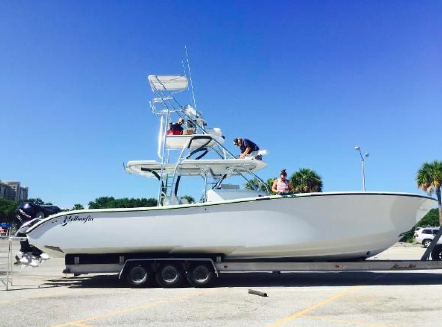 2015 Yellowfin 42' Center Console ZIP A DEE | Picture 1 of 18