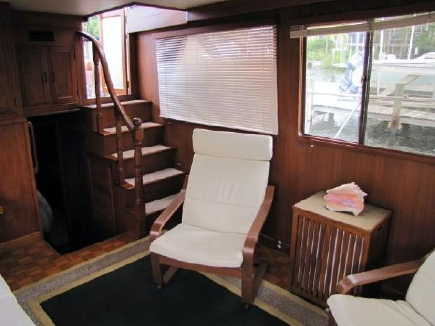1984 Ocean Alexander 43' Aft Cabin Two If By Sea | Picture 4 of 87