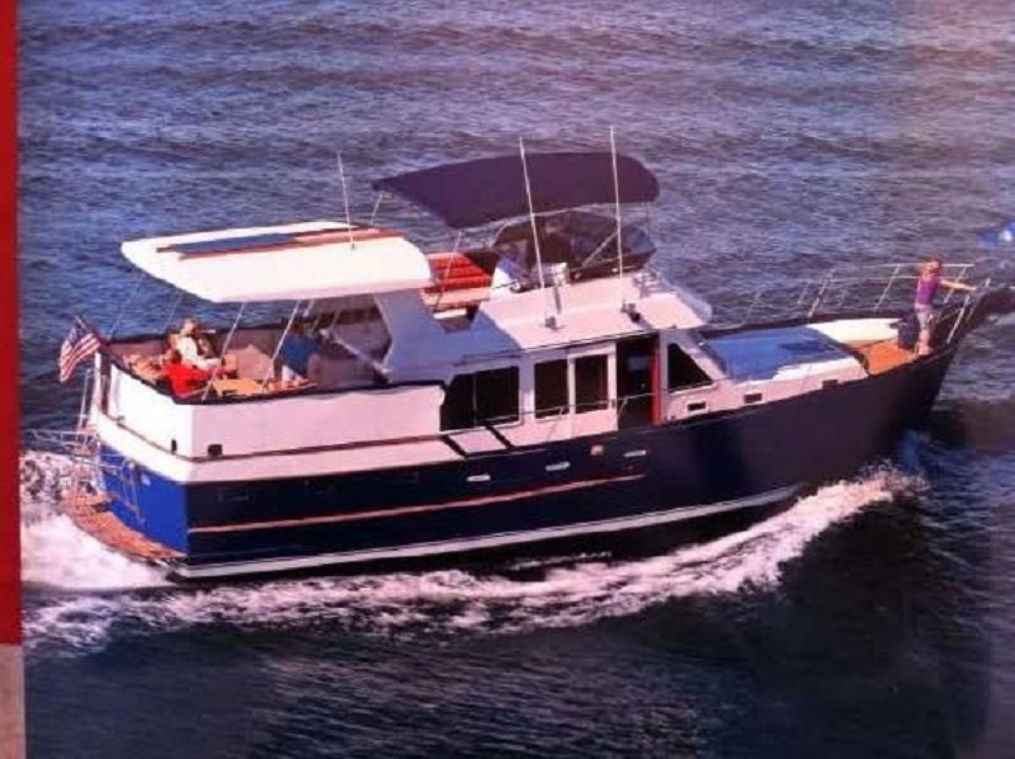 """1984 Ocean Alexander 43' Aft Cabin """"Two If By Sea"""""""