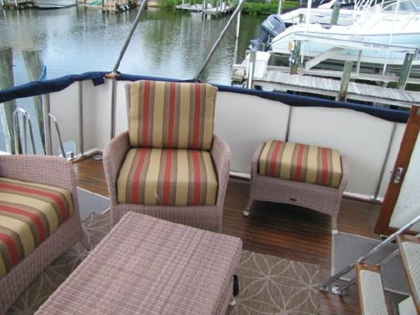 1984 Ocean Alexander 43' Aft Cabin Two If By Sea | Picture 5 of 87
