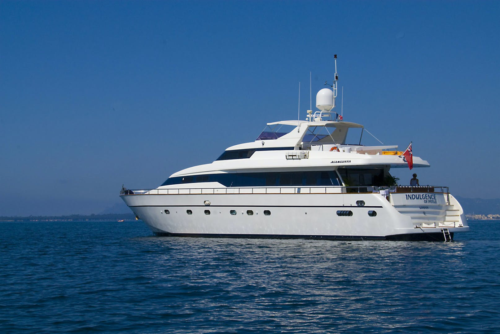 1998 Mangusta 86'  INDULGENCE OF POOLE | Picture 1 of 14