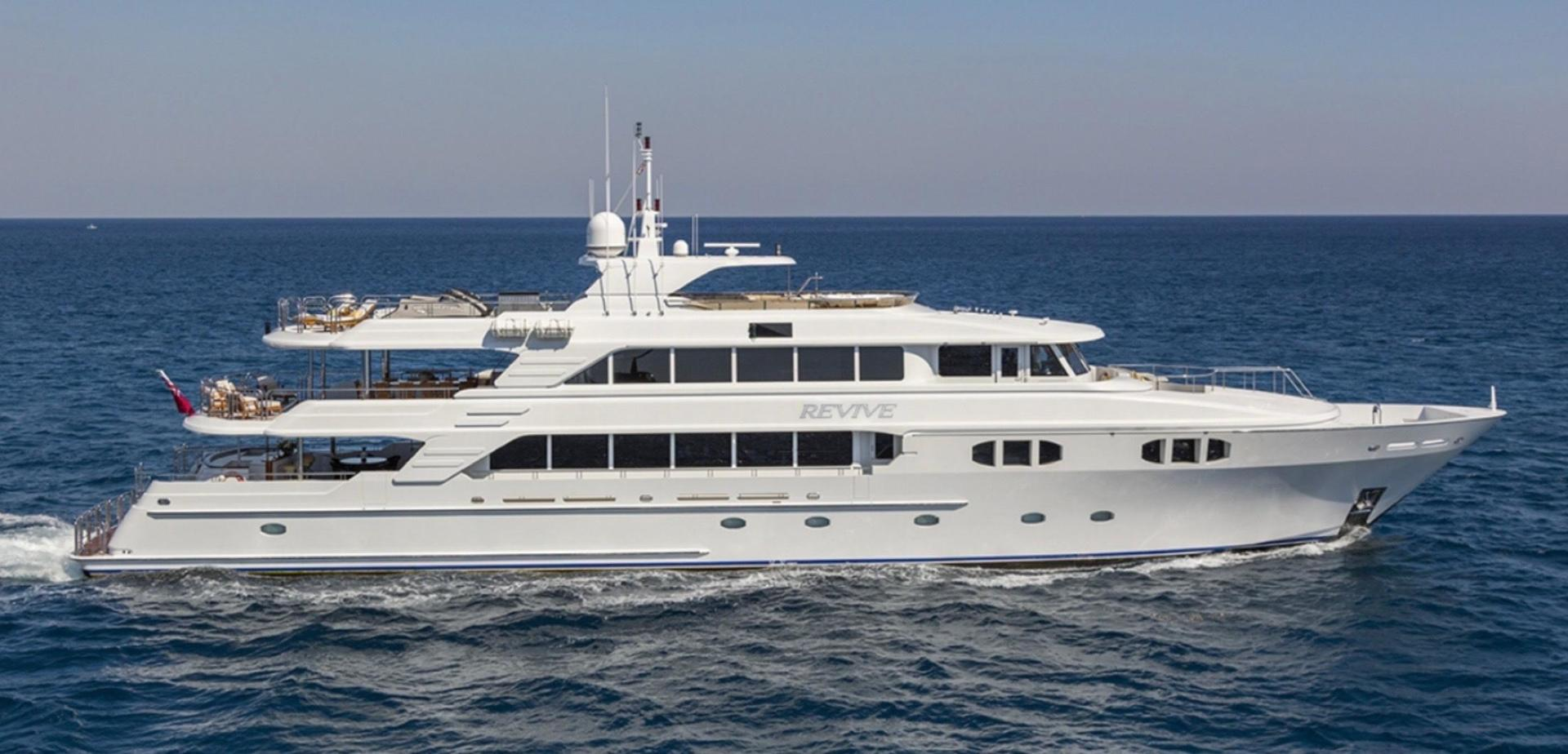 "2013 Richmond Yachts 150' Tri-deck Motor Yacht ""Revive"""