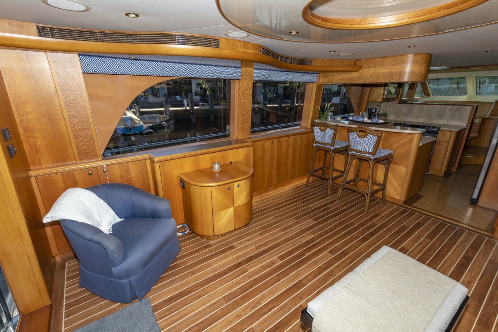 2005 Cheoy Lee 68' 68 Motor Yacht VENTURE | Picture 5 of 92