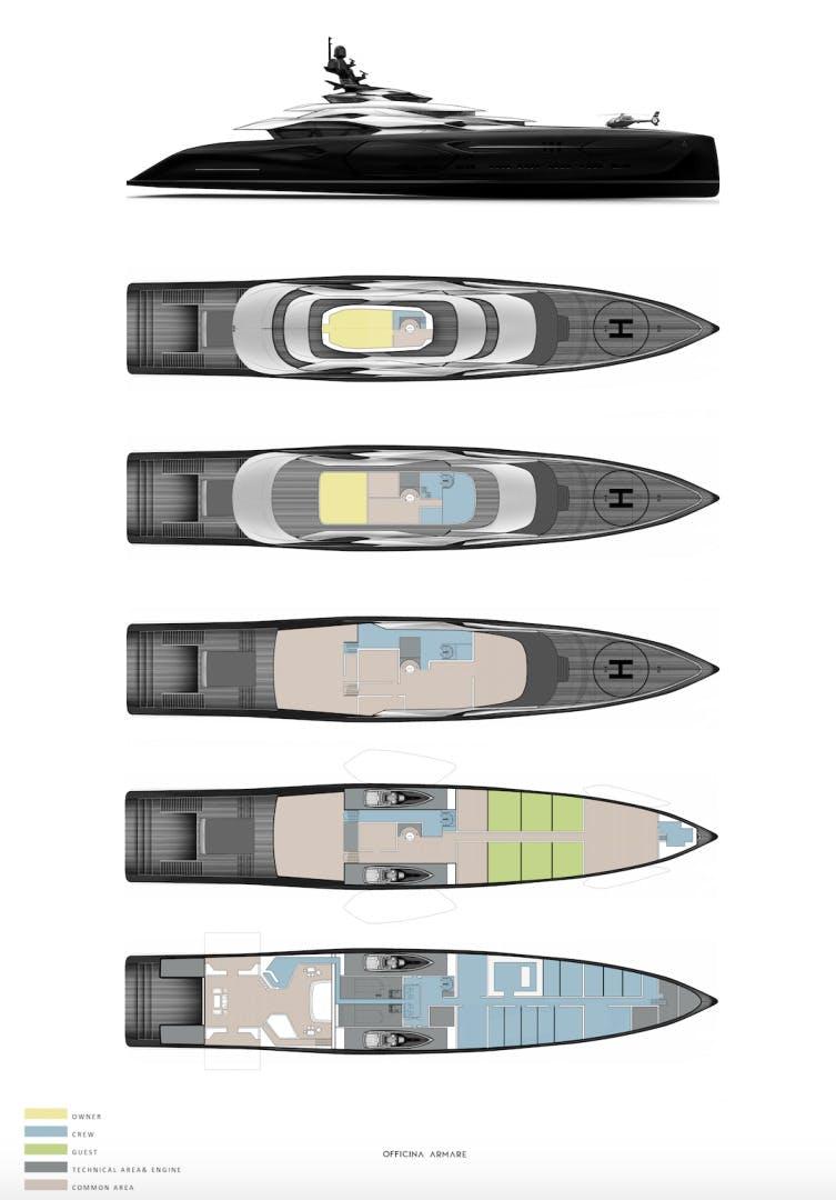 2024 Custom 360'  CENTAURO   Picture 5 of 13