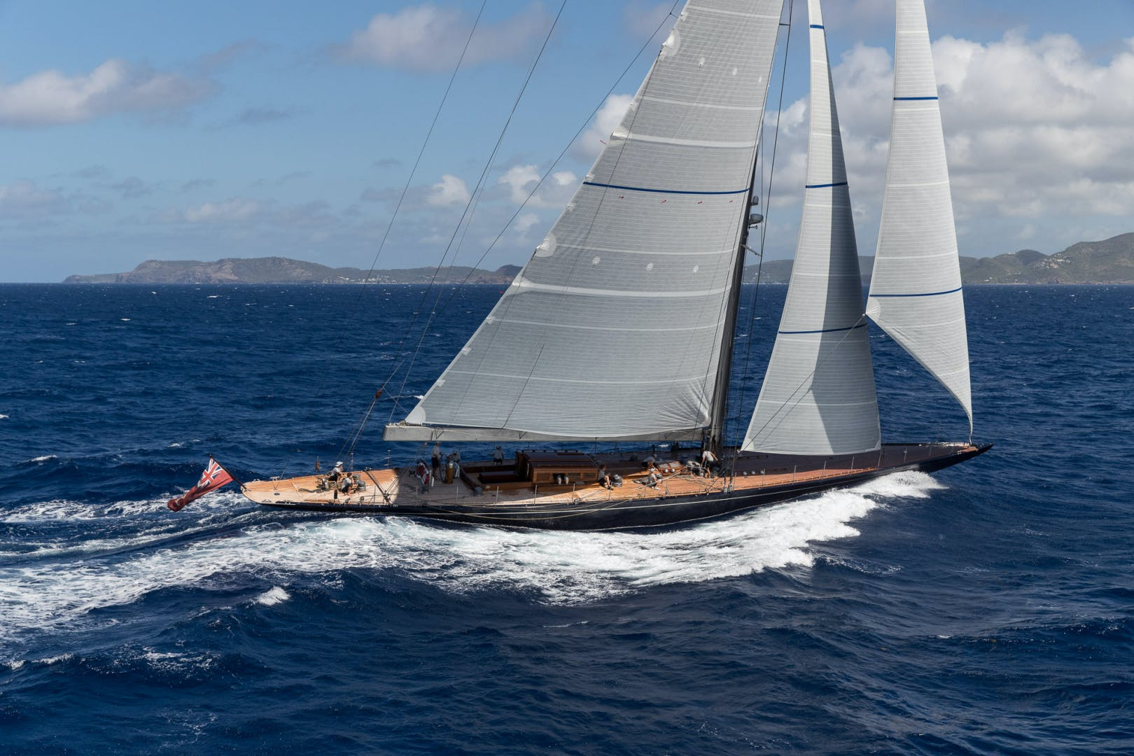 2012 Holland Jachtbouw 131' J Class RAINBOW | Picture 1 of 31