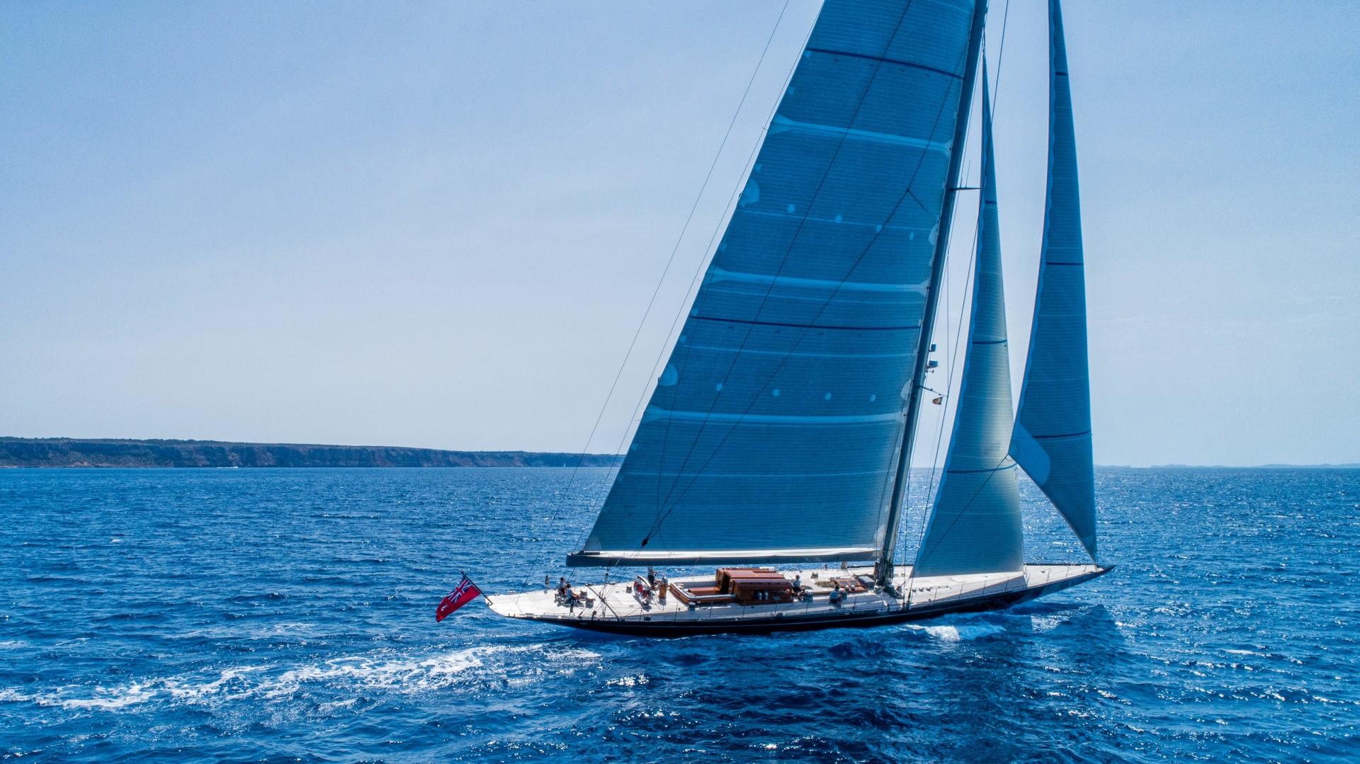 """2012 Holland Jachtbouw 131' J Class """"RAINBOW"""""""